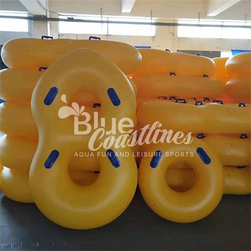 Giant Waterpark Inflatable Water Park Slide Single Tube Raft