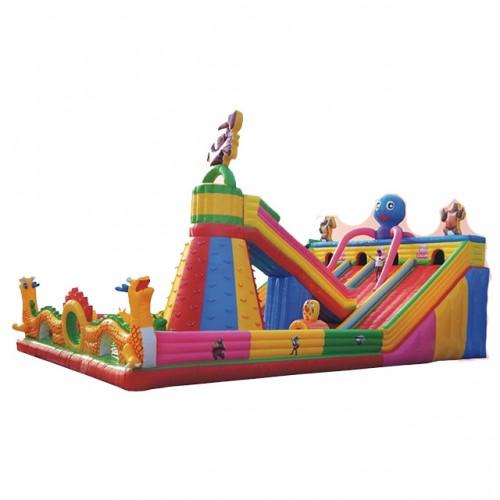 ZED Interesting Outdoor Inflatable Bouncy Castle