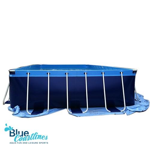 Steel Framework Swimming Pool With 1050x550x132cm