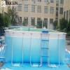 Adult Rectangular Ultra Frame Hard Plastic Pool
