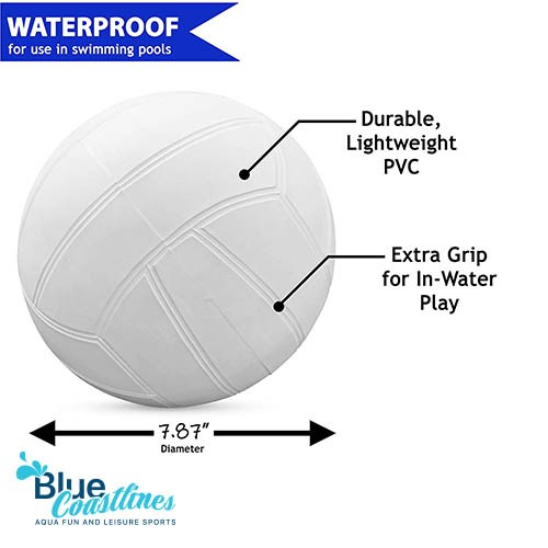 Botabee Swimming Pool Standard Size Water Volleyball