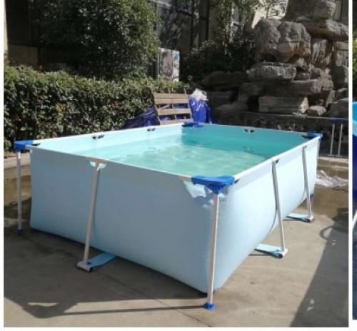 Factory Amusement Park Equipment Metal Frame Swimming Pool