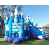 Elsa Bouncer Frozen House Jumping Bouncy Slide Inflatable Castle