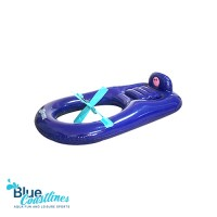 Adult Funny Inflated Floating Raft Boat With Fan