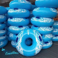 Giant Waterpark Inflatable Water Park Slide Single Tube Raft
