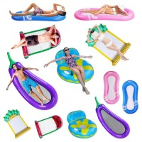 Water Lounger Hammock Inflatable Rafts