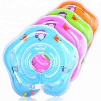 Plastic Inflatable Baby Neck Swim Ring