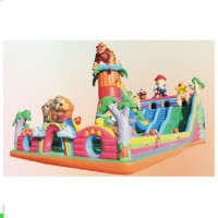ZED Interesting Outdoor Inflatable Bouncy Castle