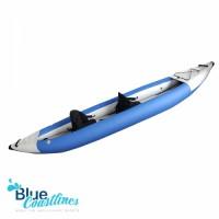 Chamber inflatable canoe kayak