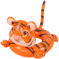 Tiger Swimming Ring Baby Boat