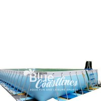 Steel Framework Swimming Pool With 1050x550x132cm