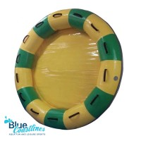 Tarpaulin PVC Inflatable Round Waterpark Raft