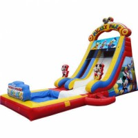 Vinyl Material Mickey Theme Bouncer castle