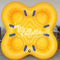 4 person Custom Inflatable Water Tube