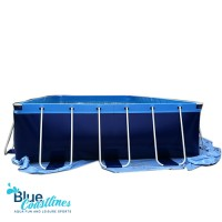 Metal Frame 132cm Plastic Water Pool